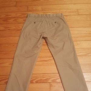 GAP khakis tailored straight fit men's dress pants